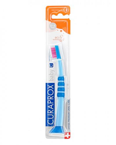 Zubna četkica Baby, plavo-ružičasta